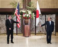 コロナ後初の要人来日、米国務副長官と外務次官が会談 今後のモデルケースに