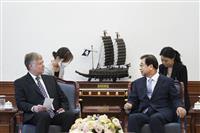 ビーガン氏が米朝対話に意欲も再開のメドなく 韓国高官と会談