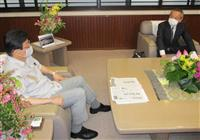 リニア会談で静岡県知事「坑口整備は本体工事」 従来主張繰り返す