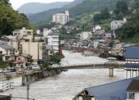 天ケ瀬温泉「再起の目前に…」 大分・日田、浸水被害 旅館経営者ら悲痛