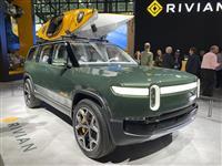 米リビアン2千億円調達 アマゾン出資EVメーカー
