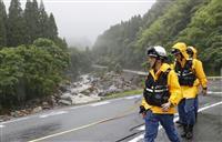 九州豪雨、住宅被害1万棟超える さらに増加、あすにかけ再び大雨も