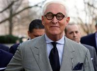 トランプ氏、盟友ロビイストの刑免除 ロシア疑惑で偽証の被告