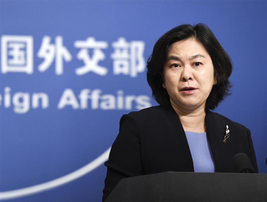 中国、米議員ら4人に報復措置 ウイグル自治区高官への制裁で
