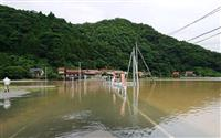 江の川氾濫で避難指示