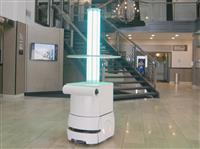 コロナ時代はロボットの出番だ 消毒作業、駅案内… 用途拡大中