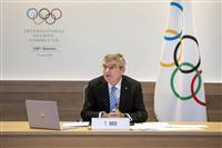 東京五輪の観客削減も検討、IOC会長