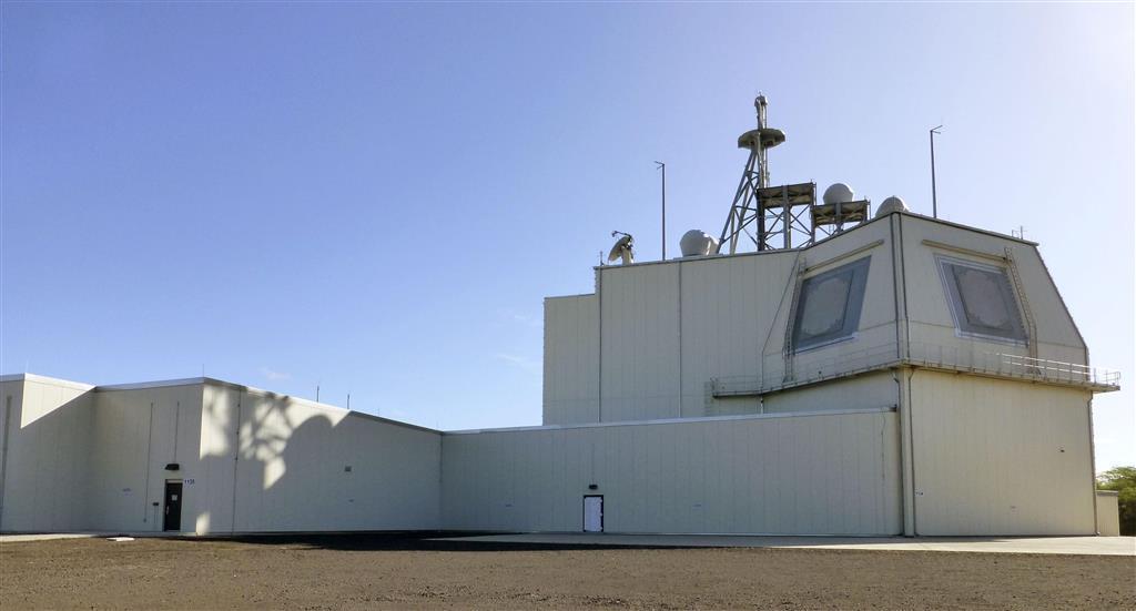 米ハワイ州カウアイ島にある地上配備型迎撃システム「イージス・アショア」の米軍実験施設=2019年1月(共同)