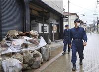 不審な勧誘や訪問相次ぐ 熊本の被災地で警戒強化