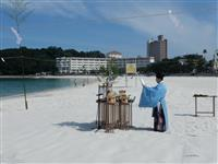 海開き前に安全祈願祭「感染者一人も出さない」 和歌山・白浜