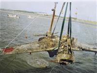 【戦後75年】特攻の歴史、3機が語る 「引き揚げられた航空機」展、3館同時開催