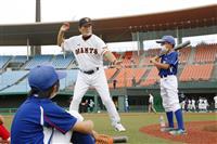プロ野球OBが福島で親善試合 中畑さんら五輪盛り上げ