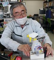 「消毒ロボ」自作して楽しく感染防止