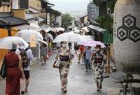 主要10観光地の県外観光客、GWの18倍 7月の連休 東京敬遠も