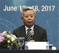 AIIB、現職の金立群総裁が続投へ 28日から年次総会