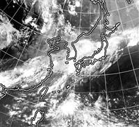 列島各地で大雨の恐れ 土砂災害や河川氾濫に警戒