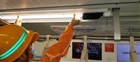 蛍光灯一体型の防犯カメラを全車両に設置 東急電鉄