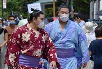 【大相撲徳俵】マスク義務化に戸惑う力士 準備運動、息苦しさも「低酸素トレーニングと思っ…
