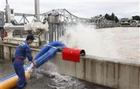 最上川が4カ所で氾濫 山形、流域住宅に浸水