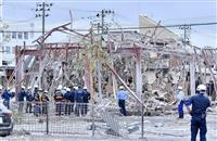 骨組みむき出し、広範囲に破片…福島飲食店爆発 コロナ休業中に何が