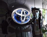 トヨタ、世界販売首位公算 半期、6年ぶりVW越え 6月生産は回復基調に