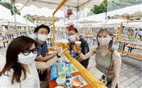 札幌でミニビアガーデン 新型コロナで大幅縮小