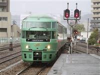 「ゆふいんの森」来月再開 被災の肥薩線車両は福岡で運行