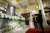 【李登輝氏死去】台湾の蔡英文総統が献花 「民主主義見守って」