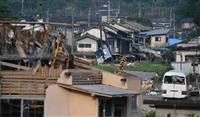 〈独自〉7月豪雨「半壊」も対象へ 被災者再建支援金で政府検討