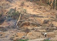 7月豪雨の半壊に支援金 被災者再建で内閣府