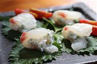 【料理と酒】鳥取県のらっきょうとマダイ、クリームチーズ