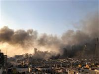 ベイルートの大規模爆発 死者70人超、2700人以上が負傷 ロイター報道
