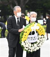 75年草木も生えぬとされた広島「ここまで復興した」被爆者代表の佐貫さん