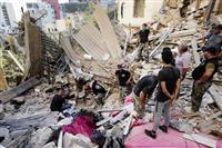 レバノン政情不安に拍車も 大規模爆発 周辺国、支援で影響力増大狙う
