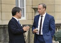 日英外相が会談 貿易交渉や香港情勢で連携確認
