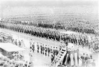 【100年の森 明治神宮物語】学徒 雨中の壮行会「入隊、死も覚悟していた」