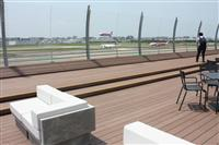 福岡空港展望デッキきょうオープン 国内線旅客ターミナルビル 広さ4.5倍、商業施設も