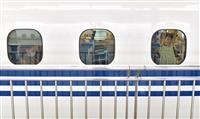 新大阪駅の新幹線ホームも混雑なく お盆休みスタート