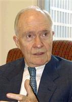 スコウクロフト氏死去 元米大統領補佐官 冷戦終結や湾岸戦争に対応