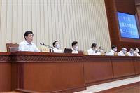 中国、全人代で香港立法会の対応を協議 任期延長へ