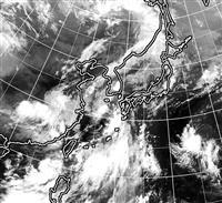 台風5号、九州北部に接近 暴風、土砂災害に警戒