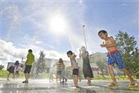 岐阜・多治見で38・6度 全国の最高気温を更新
