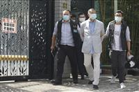 香港「反中国紙」創業者ら、国安法違反で逮捕 息子2人も…本社捜索