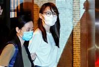 香港「雨傘」リーダー、周庭氏逮捕 国安法違反、民主運動家で初