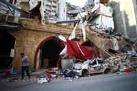 レバノン大爆発から1週間 内閣総辞職、政治不信が拡大