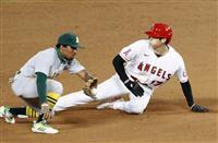 大谷翔平が3試合連続複数安打 今季2個目の盗塁も