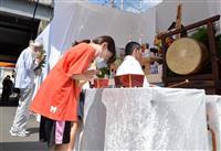 終戦前日の悲劇、後世に 大阪・京橋駅空襲犠牲者悼む