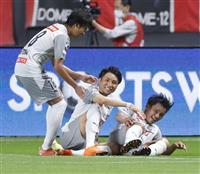 川崎、6ゴールで9連勝 サッカーJ1 C大阪は柏下す