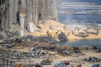 レバノン支援600億円要請 国連 大爆発被災者向け