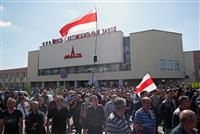 国民にゼネスト呼び掛け、ベラルーシ反体制派